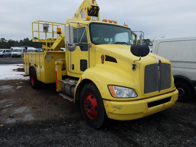 Salvage cars for sale from Copart Brookhaven, NY: 2010 Kenworth Construction