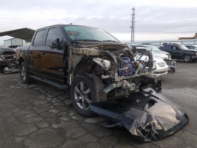 Salvage cars for sale from Copart Fresno, CA: 2016 Ford F150 Super