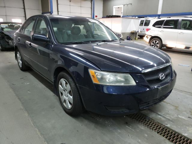 Salvage cars for sale from Copart Pasco, WA: 2007 Hyundai Sonata GLS