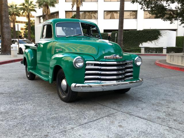 Salvage cars for sale from Copart Wilmington, CA: 1950 Chevrolet 3100