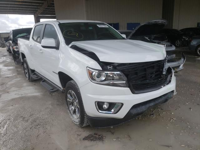Salvage cars for sale from Copart Homestead, FL: 2019 Chevrolet Colorado Z