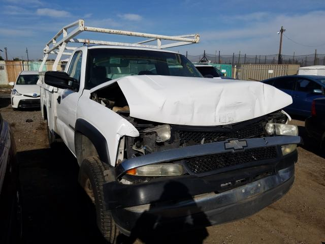 Salvage cars for sale from Copart San Martin, CA: 2002 Chevrolet Silverado