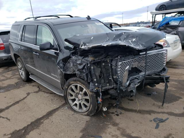 Salvage cars for sale from Copart Woodhaven, MI: 2015 GMC Yukon Dena