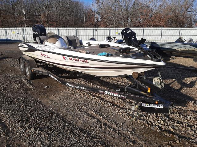 Salvage cars for sale from Copart Conway, AR: 2006 Triton Boat