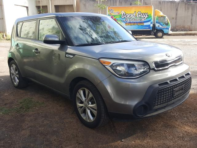 Salvage cars for sale from Copart Kapolei, HI: 2015 KIA Soul +