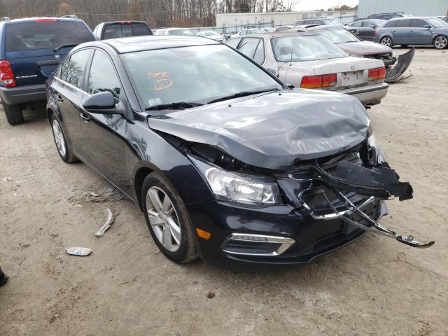 Salvage cars for sale from Copart Hampton, VA: 2015 Chevrolet Cruze