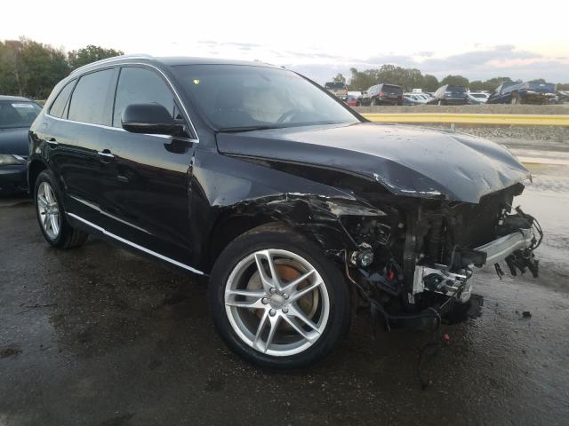 Salvage cars for sale from Copart Riverview, FL: 2015 Audi Q5 Premium