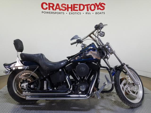 Salvage cars for sale from Copart Dallas, TX: 1999 Harley-Davidson Fxstb