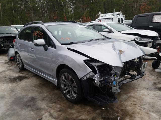 Salvage cars for sale from Copart Lyman, ME: 2016 Subaru Impreza SP