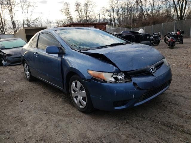 Salvage cars for sale from Copart Baltimore, MD: 2007 Honda Civic LX