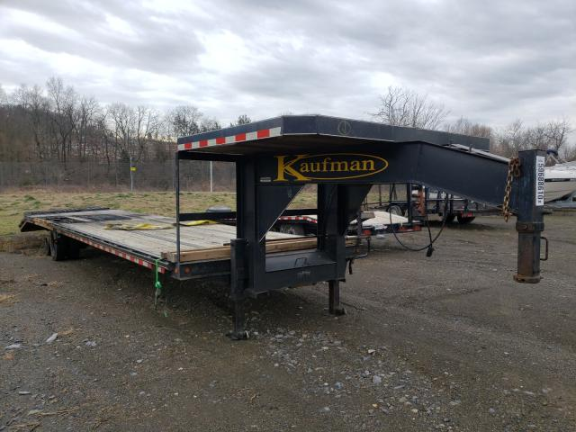 Kaufman salvage cars for sale: 2015 Kaufman Gooseneck