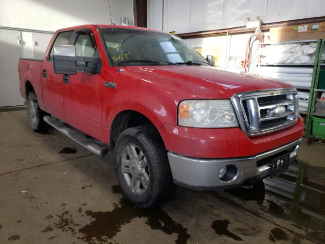 Salvage cars for sale from Copart Nisku, AB: 2008 Ford F150 Super