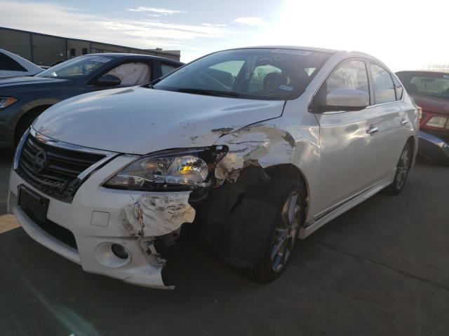 из сша 2013 Nissan Sentra S 1.8L 3N1AB7APXDL729363