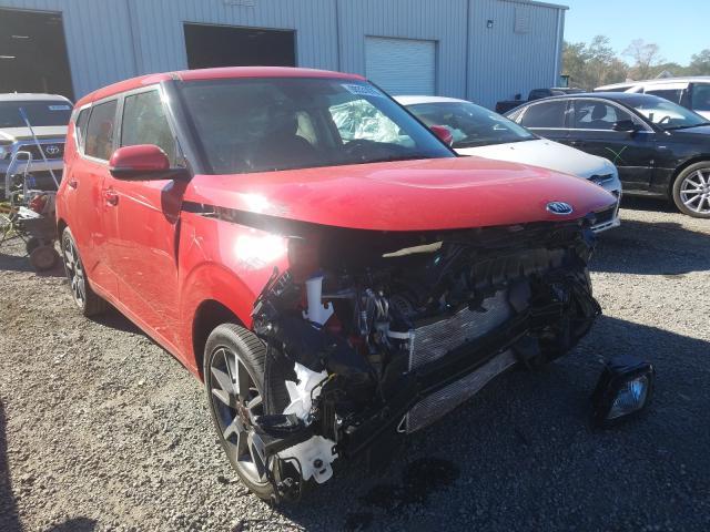 KIA Soul GT LI salvage cars for sale: 2021 KIA Soul GT LI
