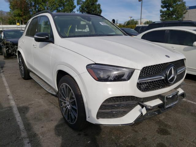 Salvage cars for sale from Copart Rancho Cucamonga, CA: 2020 Mercedes-Benz GLE 580 4M