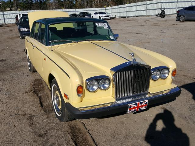 Salvage cars for sale from Copart Harleyville, SC: 1979 Rolls-Royce Shadow