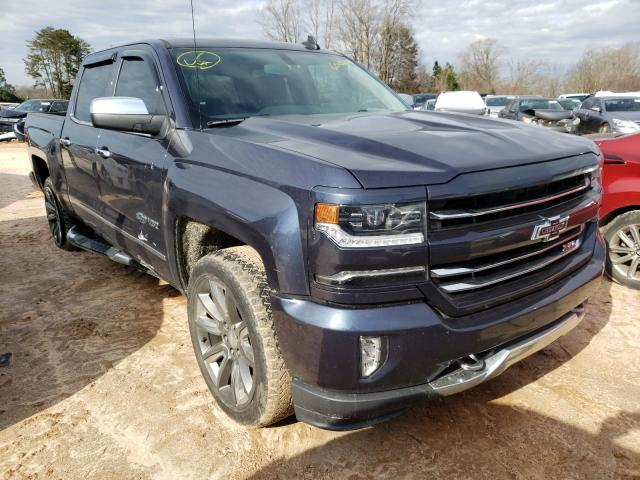 Salvage cars for sale from Copart China Grove, NC: 2018 Chevrolet Silverado
