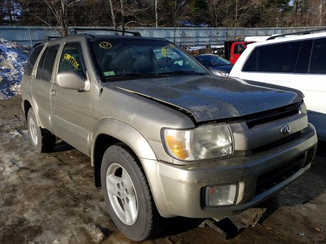 Salvage cars for sale from Copart Mendon, MA: 2002 Infiniti QX4