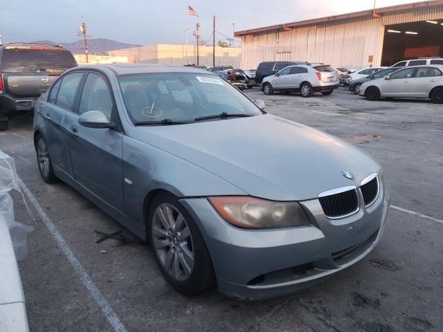 Salvage cars for sale at Sun Valley, CA auction: 2006 BMW 325 I