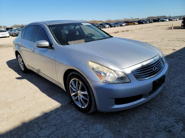 Salvage cars for sale from Copart Temple, TX: 2009 Infiniti G37 Base