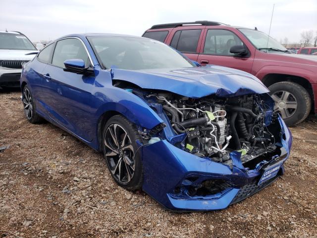 Salvage cars for sale from Copart Bridgeton, MO: 2019 Honda Civic SI