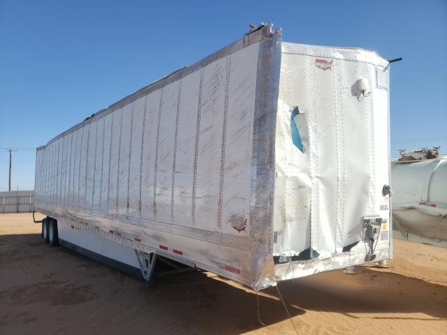 Salvage cars for sale from Copart Andrews, TX: 2021 Wabash Dryvan