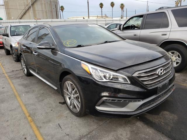 Salvage cars for sale from Copart Wilmington, CA: 2015 Hyundai Sonata Sport