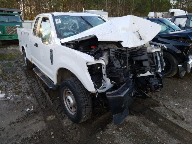 Salvage cars for sale from Copart Sandston, VA: 2019 Ford F250 Super