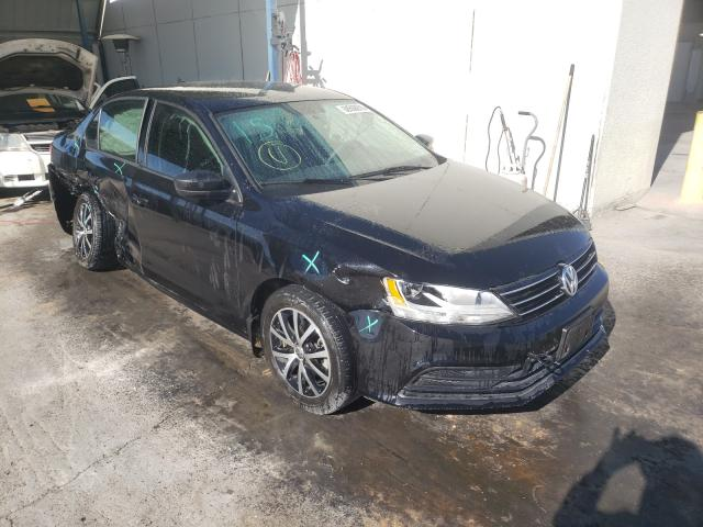 Salvage cars for sale from Copart Anthony, TX: 2016 Volkswagen Jetta SE