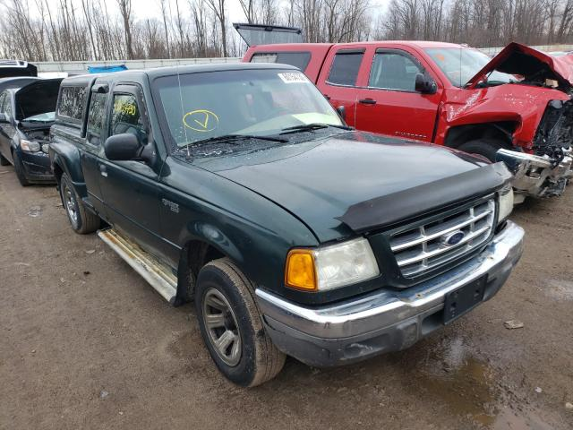 Salvage cars for sale from Copart Davison, MI: 2003 Ford Ranger SUP