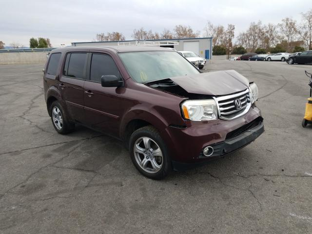 Salvage cars for sale from Copart Colton, CA: 2015 Honda Pilot EXL