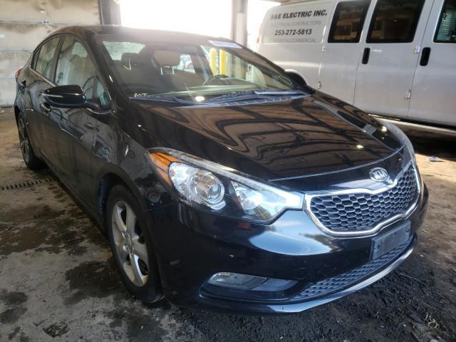 Salvage cars for sale from Copart Graham, WA: 2014 KIA Forte EX