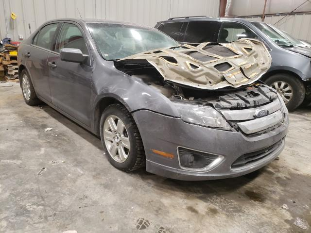 Salvage cars for sale from Copart Appleton, WI: 2012 Ford Fusion SEL