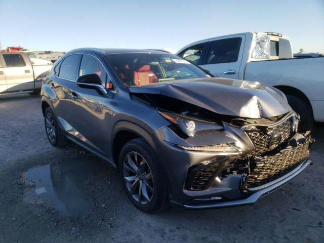 Salvage cars for sale from Copart Houston, TX: 2020 Lexus NX 300 F-S