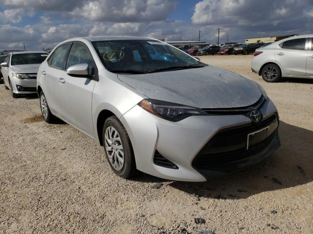 Salvage cars for sale from Copart San Antonio, TX: 2018 Toyota Corolla L