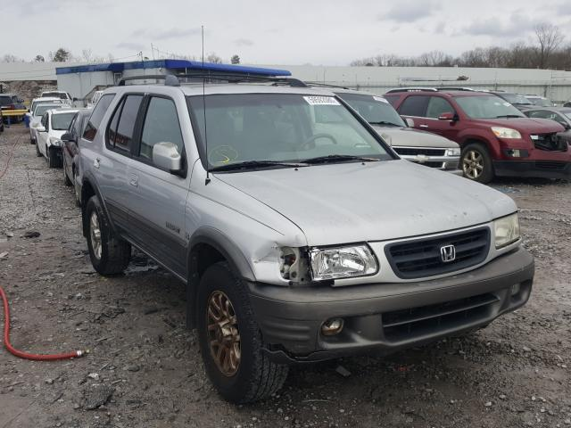 Honda Passport E salvage cars for sale: 2002 Honda Passport E
