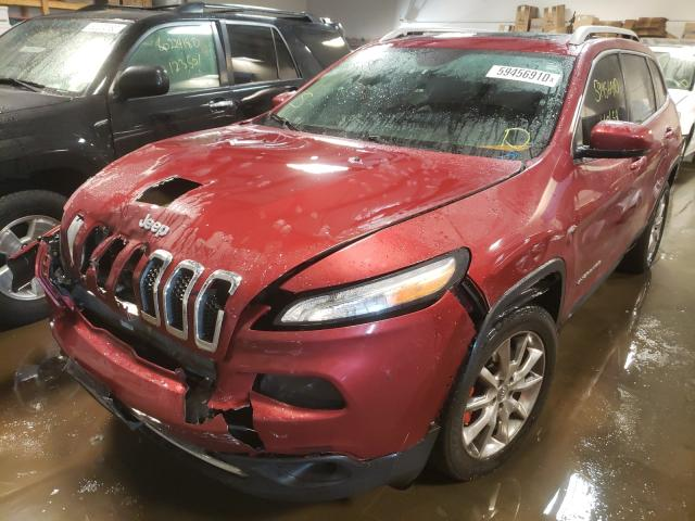из сша 2014 Jeep Cherokee L 3.2L 1C4PJLDS6EW113867