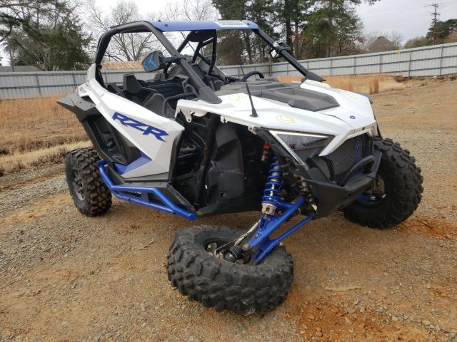 Salvage cars for sale from Copart Longview, TX: 2020 Polaris RZR PRO XP