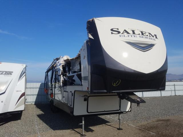 Salem salvage cars for sale: 2020 Salem Trailer