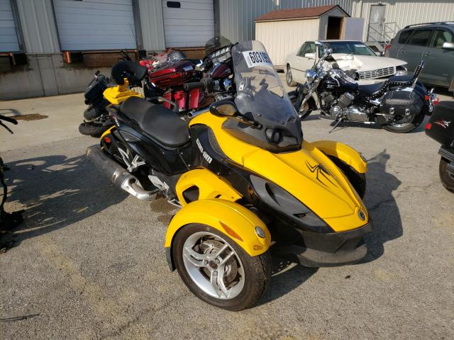 Salvage cars for sale from Copart Louisville, KY: 2009 Can-Am Spyder ROA