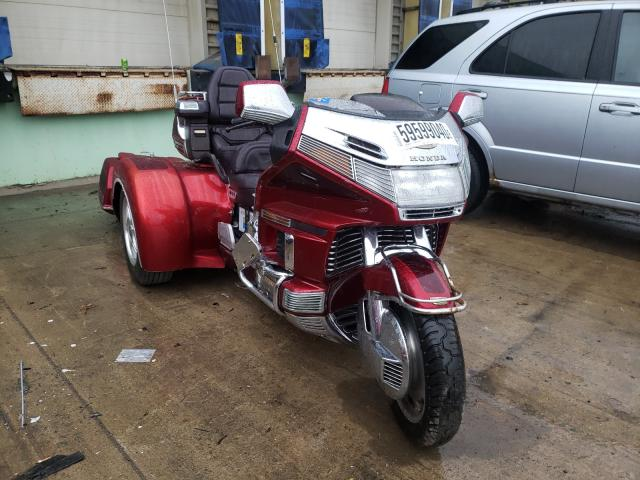 Salvage cars for sale from Copart Columbus, OH: 1995 Honda GL1500 SE1