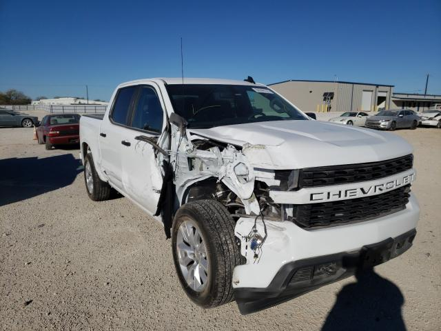 Salvage cars for sale from Copart San Antonio, TX: 2020 Chevrolet Silverado