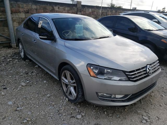 Salvage cars for sale from Copart Homestead, FL: 2014 Volkswagen Passat SEL