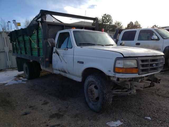 Salvage trucks for sale at Littleton, CO auction: 1995 Ford F Super DU