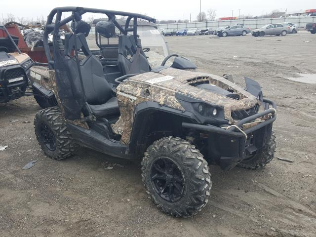 Can-Am salvage cars for sale: 2016 Can-Am Camandor