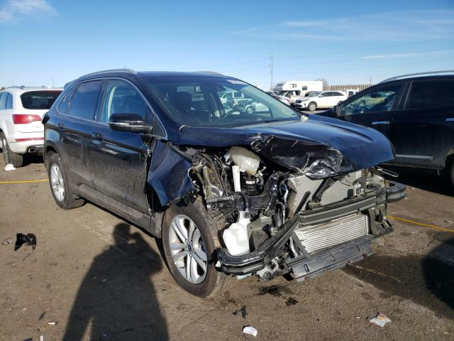 Salvage cars for sale from Copart Denver, CO: 2020 Ford Edge SEL