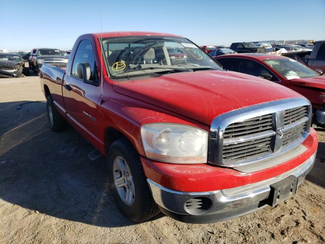 Salvage cars for sale from Copart Amarillo, TX: 2006 Dodge RAM 1500 S