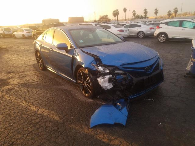 Salvage cars for sale from Copart Colton, CA: 2019 Toyota Camry XSE