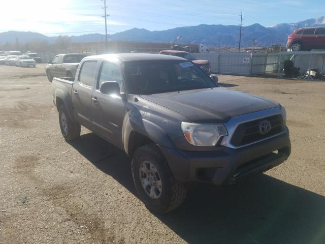 Salvage cars for sale at Colorado Springs, CO auction: 2013 Toyota Tacoma DOU