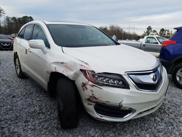 Salvage cars for sale at Loganville, GA auction: 2017 Acura RDX Techno